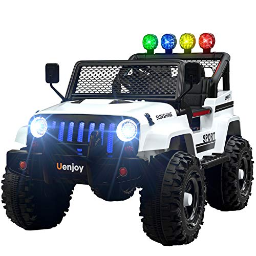 Uenjoy Electric Kids Ride On Cars 12V...