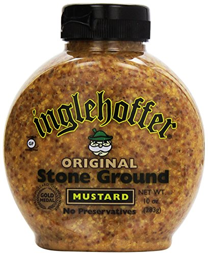 Inglehoffer Stone Ground Mustard, 10 oz