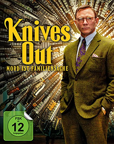 Knives Out - Mord ist Familiensache - Mediabook (4K Ultra HD+ Blu-ray 2D)