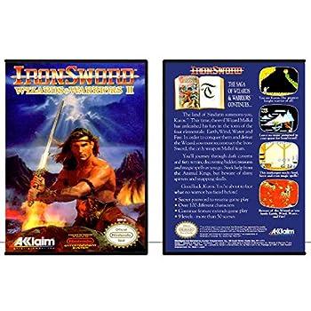 Iron Sword  Wizards & Warriors II | NES - Game Case
