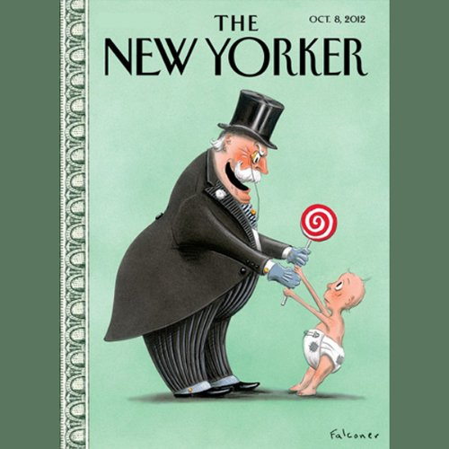 The New Yorker, October 8th 2012 (Ken Auletta, Connie Bruck, James Surowiecki) cover art