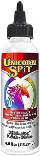 Unicorn SPiT 5770005 Gel Stain and Glaze, White Ning 4.0 FL OZ Bottle