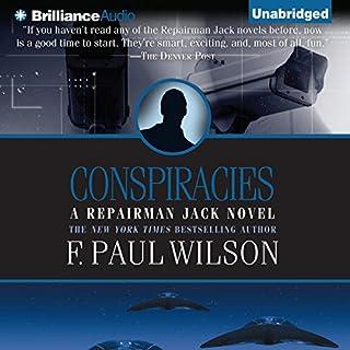 Conspiracies audiobook cover art