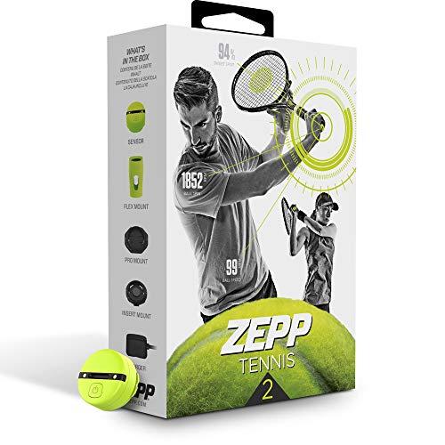 Zepp Tennis 2.0 Swing & Match Analyzer, analizzatore di Colpi e Gioco per Il Tennis, ausili per lallenamento del Movimento nel Tennis, Attrezzatura per lallenamento nel Tennis per Uomini e Donne