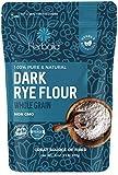 Rye Flour 2lb / 32oz, Dark Rye Flour for Bread, Pumpernickel Flour, Rye Bread Flour, Rye Flour for Baking, 100% Whole Rye Flour, Non-GMO.