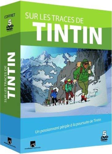 Le documentaire en 5 volumes Sur les traces de Tintin en DVD