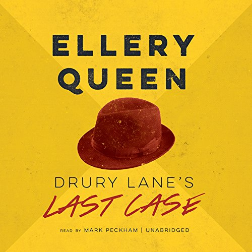 Drury Lane's Last Case audiobook cover art