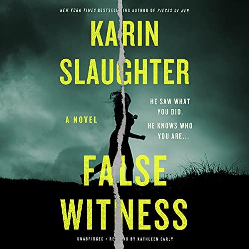 False Witness Audiobook By Karin Slaughter cover art