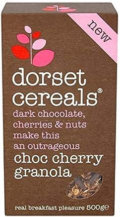 [Dorset Cereals ] ドーセット穀物チョコレート&チェリー500グラム - Dorset Cereals Chocolate & Cherry 500g [並行輸入品]