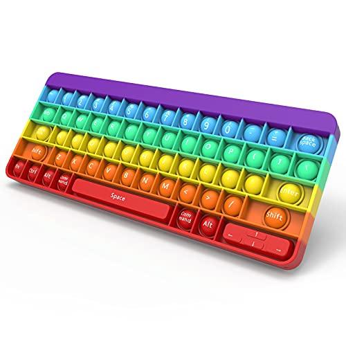 pop it tastiera Yefun Push Bubble Giocattolo Fidget Sensoriale