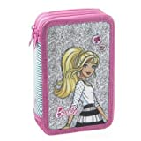 Estuche triple Barbie