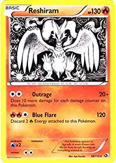 Pokemon - Reshiram (28/113) - Legendary Treasures - Holo
