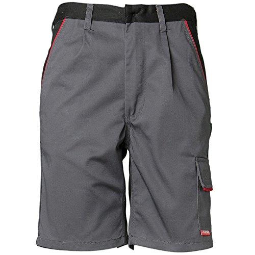 Planam Größe M Herren Highline Shorts Schiefer schwarz rot Modell 2372