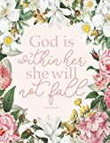 Five Year Christian Planner: God is Within Her She Will Not Fall Psalms 46:5. 60 Months Calendar. Monthly Logbook and Journal. (2021-2025, Size 8.5x11)