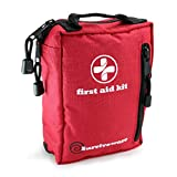 Surviveware Small First Aid Kit with Labelled Compartments for Hiking,...