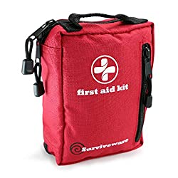 best first aid kit reviews, first aid kits, best first aid kit for hiking and backpacking, surviveware small first aid kit for hiking