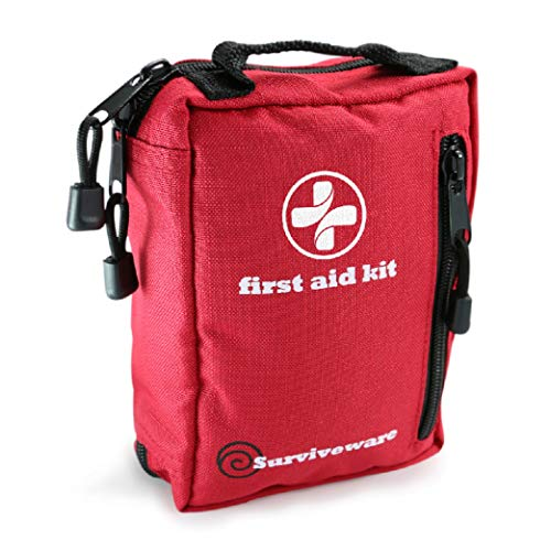 Surviveware Small First Aid Kit wit…