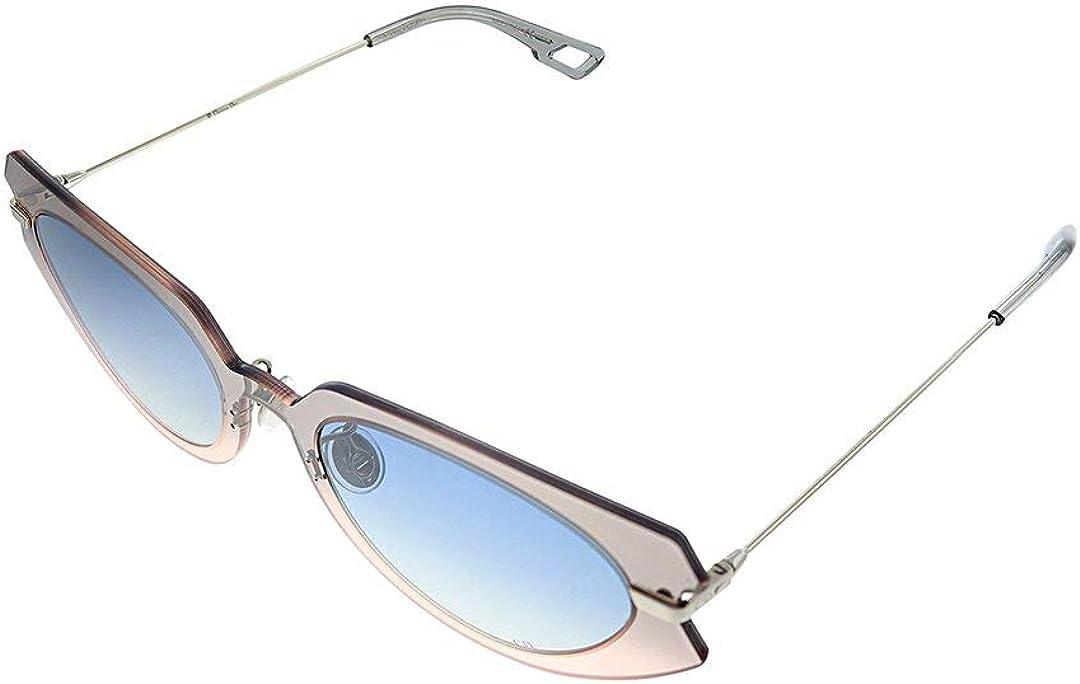 Dior Women's Diorattitude2 53Mm half Be super welcome Sunglasses