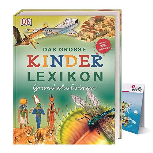 Das große Kinderlexikon Grundschulwissen (Gebundenes Buch) + Kinder-Weltkarte