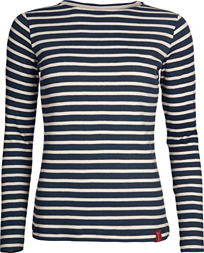 Elkline U-Boot Longsleeve Damen blueshadow-White Größe 34 2018 Langarmshirt