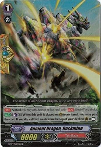 Cardfight   Vanguard TCG - Ancient Dragon, Rockmine (BT17 016EN) - Booster Set 17  Blazing Perdition ver.E by Cardfight   Vanguard TCG