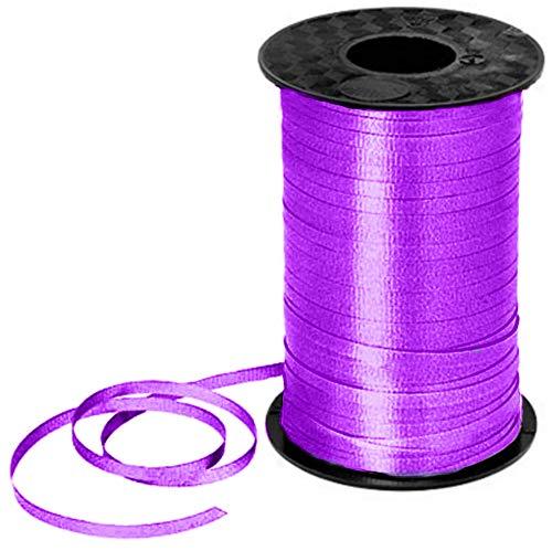 "PMU Curling Ribbon 3/16"" Inch X 500 Yards Purple (1/Pkg) Pkg/1"