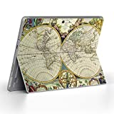 igsticker Decal Cover for Microsoft Surface Go/Go 2 Ultra Thin Protective Body Sticker Skins 006040 World map