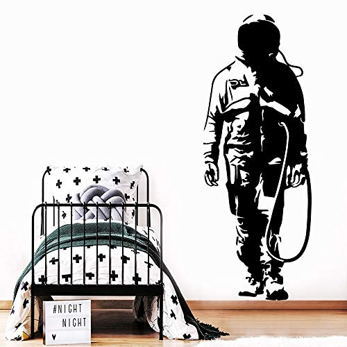 wZUN Klassische Banksy Charakter wasserdichte Wandaufkleber Home Decor Vinyl Aufkleber Art Decal 33x88cm