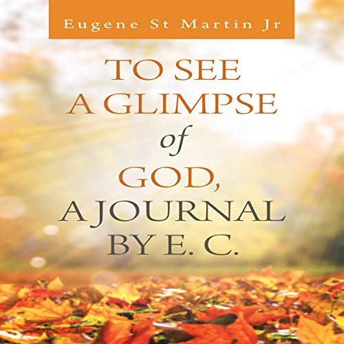 To See a Glimpse of God, a Journal by E. C. audiobook cover art