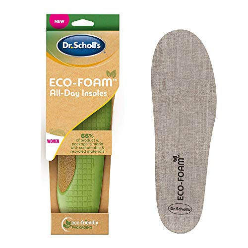Dr. Scholl's Eco-Foam Insoles for Women, Shoe Inserts Made with Sustainable...