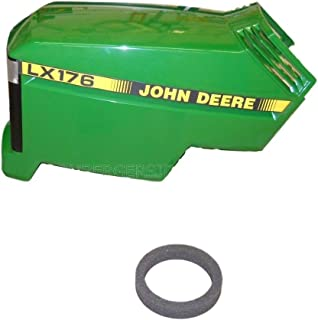 John Deere LX176 New Complete Hood Assembly AM132526 AM117723 M110378
