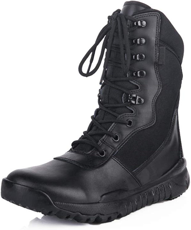 Hy Herren- Herren- Herren-   Damen-Wanderschuhe, Dicke untere Komfortkletterturnschuhe, Laufschuhe für den Außenbereich, Werkzeugschuhe (Farbe   Schwarz, Größe   39)  f4241e