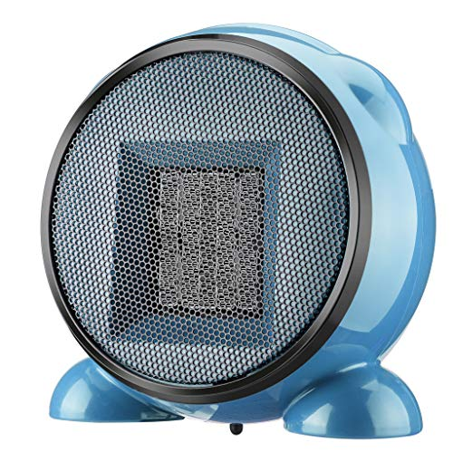 BXzhiri Small Personal Mini Personal Space Heater Fan, Portable Electric Home Office Indoor Use Ceramic Desk Heater Safe & Quiet 8.27X4.13X8.27in