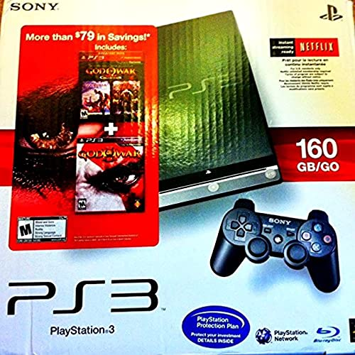 Ps3 Slim 160 Gb God of War Collection (1-3) Edition + Killzone 2, Resistance Fall of Man and the Last of Us + Playstation Vertical Stand