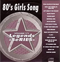 80's Girls Song Karaoke Disc - Legends Series CDG