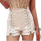 Cowgirl d'été coréen Shorts Hot Pants Trou de Taille Haute Sexy Ultra Courte discothèque Femmes