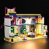 BRIKSMAX Kit di Illuminazione a LED per Lego Friends Negozio di Accessori di Andrea,Compatibile con Il Modello Lego 41344 Mattoncini da Costruzioni - Non Include Il Set Lego.