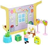 Peppa Pig- Peppa-Geburtstagsparty mit Schorsch Juego de Fiesta de cumpleaños con George, Color (Jazwares 97013)