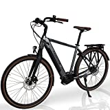 Phantom City   E-Bike   E Bike   28' Zoll   13Ah   95Nm   500Wh   TurboBoost   Elektrofahrrad   Pedelec   Samsung   Herren/Damen   250W   Shimano   SelleRoyal   Premium Qualität