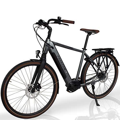 "Phantom City   E-Bike   E Bike   28\"" Zoll   13Ah   95Nm   500Wh   TurboBoost   Elektrofahrrad   Pedelec   Samsung   Herren/Damen   250W   Shimano   SelleRoyal   Premium Qualität"