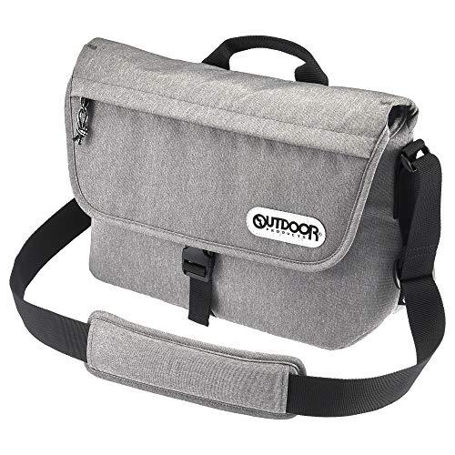 OUTDOOR PRODUCTS(アウトドアプロダクツ) カメラバッグ カメラショルダーバッグ05 小型一眼レフ用カメラ用 ヘザーグレー 2ODCSB05HG