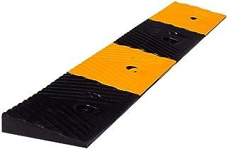 Rampas de goma, colores brillantes amarillos y negros Rampas de bordillos fuertes y resistentes The