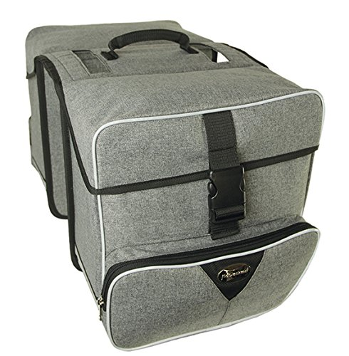 Review Of HABERLAND Maxi Handlebar Bag Maxi 31 X 31 X 16 cm Grey Deluxe