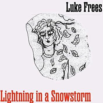 Lightning in a Snowstorm