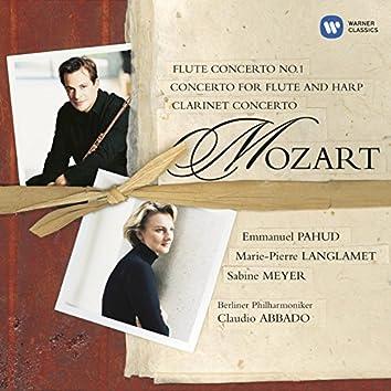 Mozart:Flute/Flute & Harp & Clarinet Concerti