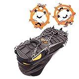 Schuh Spikes Silikon Schneeketten Einfache 8-Zahn-Steigeisen Im Freien EIS und Schnee Rutschfester Überschuh