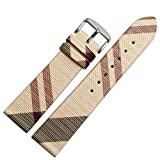 Choco&Man US Calfskin Leather Watch Band Suitable for Women's Watches