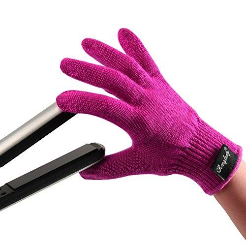 Remylady® Professionelle Hitzeschutz Handschuh für Haarglätter Lockenstab Glätteisen,Verwendbar Für Links Und Rechtshänderm,1 Stück
