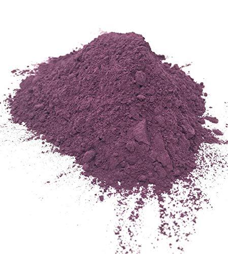 Poudre De Patate Douce Violette - 100% Naturelle - Délicieuse Poudre De Patate Douce Crue De Couleur Changeante | Ajouter Aux Céréales, Bouillie, Yaourt, Smoothies | Poids Net: 75g