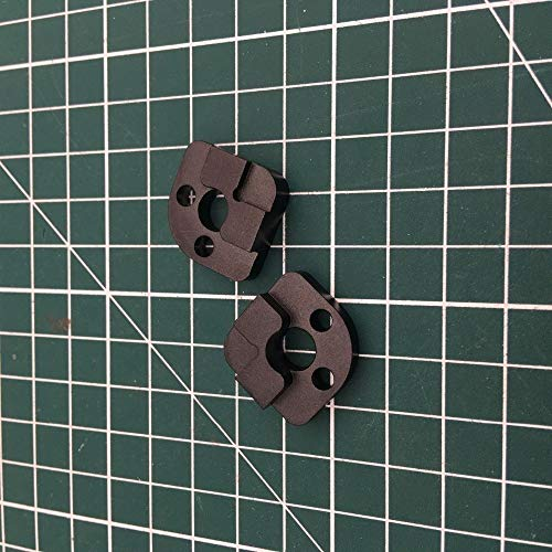 XACQuanyao LMY-PULLEY, 4pcs Aluminum Bed Corner For Upgrade LulzBot TAZ6 3D Printer Heated Bed
